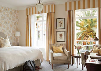 Chambre deluxe au Mount Nelson Hotel