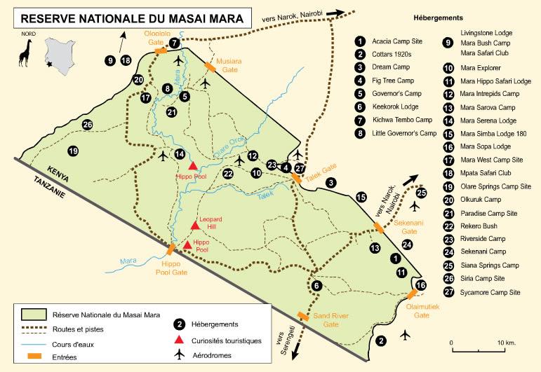 Réserve Nationale du Masai Mara, Kenya