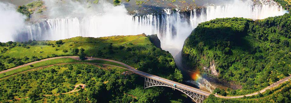 Chutes Victoria en Zambie et au Zimbabwe