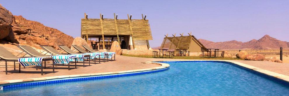 Desert Quiver Camp, Namibie