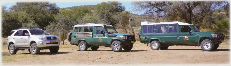Location de voiture avec chauffeur en Namibie
