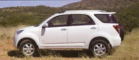 Les SUV 4 places : Toyota Inova, Daihatsu Terios ou similaire