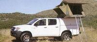 Les véhicules 4x4 : Toyota Hilux Double Cabine avec équipement camping