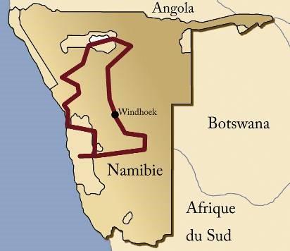 Safari Namibie en lodges