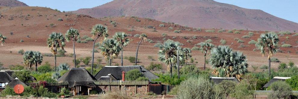 Palmwag Lodge, Namibie