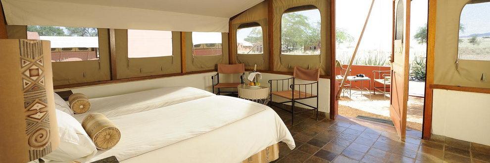 Sossusvlei Lodge, Namibie