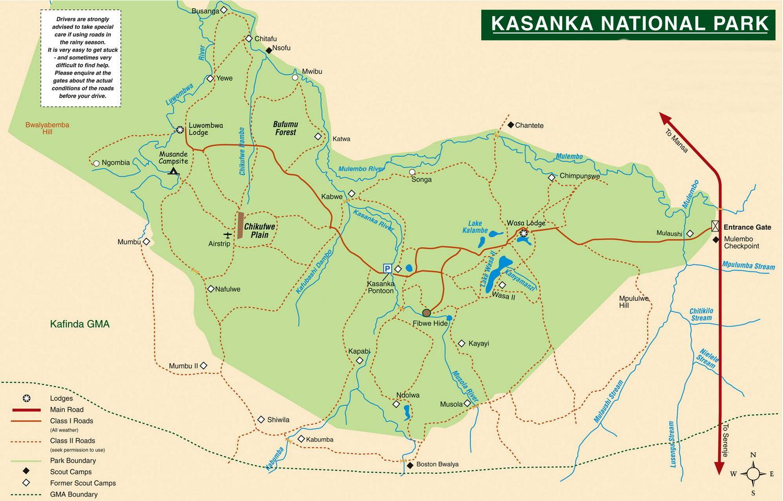 Parc national de Kasanka, Zambie