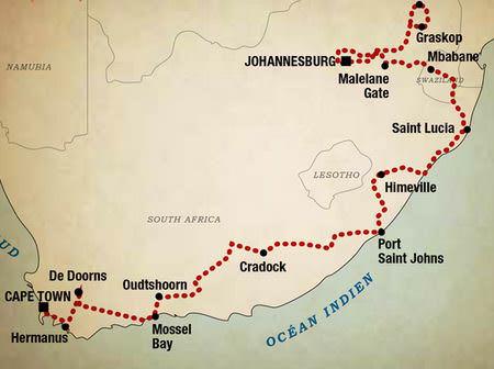 L'Afrique du Sud en Harley-Davidson - le Grand Trek