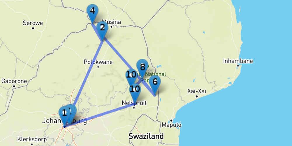 Circuit : l'Afrique du Sud sauvage
