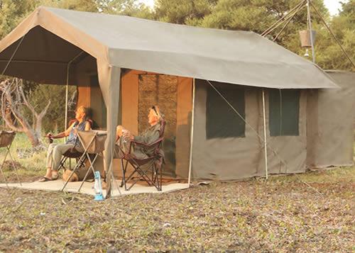 Circuit au Botswana : Okavango et Kalahari