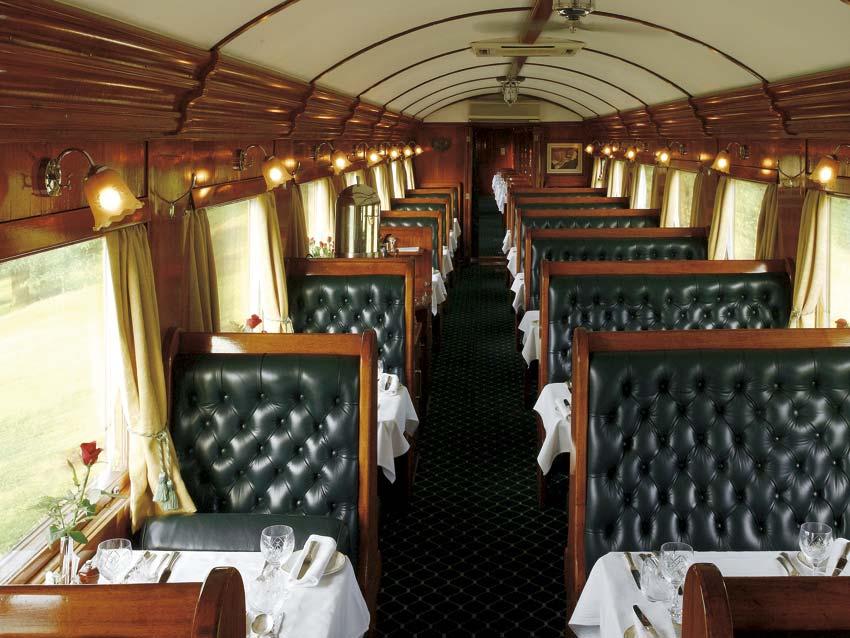 Le Rovos Train en Afrique du Sud