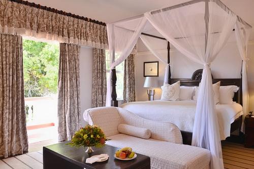 Une chambre du Victoria Falls Hotel